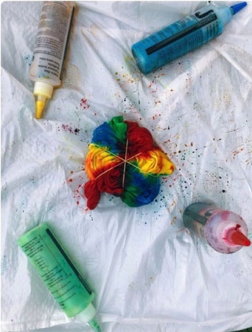 how to make tie-dye