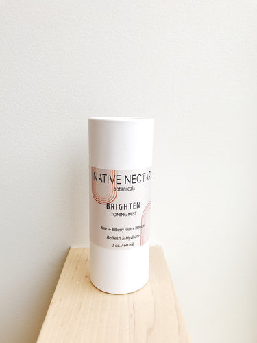 Native Nectar Brightening Toning Mist