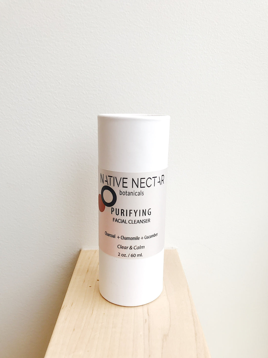 Native Nectar Purifying Charcoal Cleanser