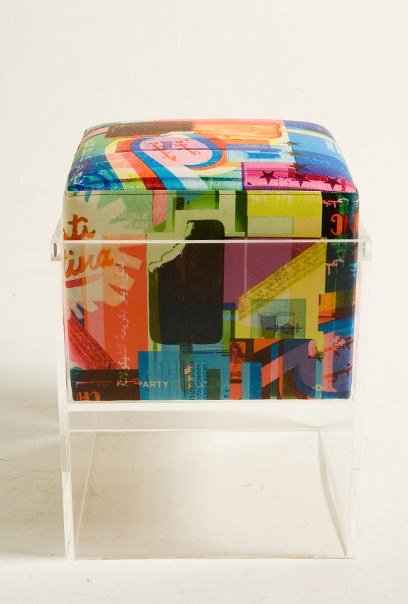 Nada Debs x Rana Salam Floating Stool