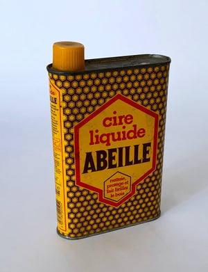 Vintage oil can Abeille