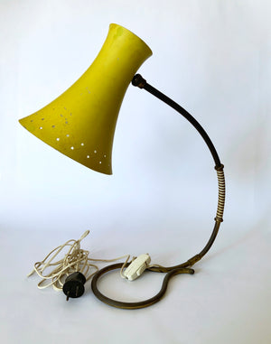 Side Lamp with Stars details 1950's