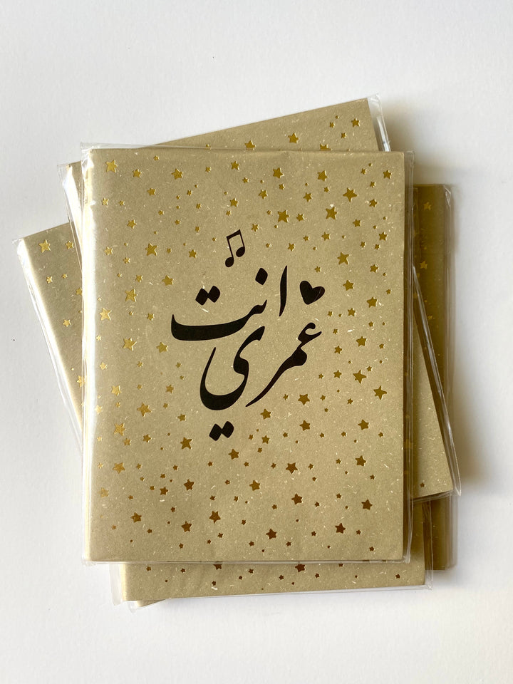 Enta Omri | set of 6 Notebooks