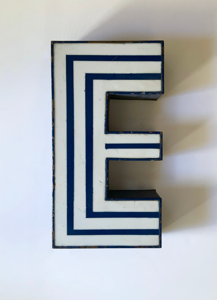 Stripy letters 1970's