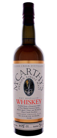 McCarthy's Single Malt Whiskey