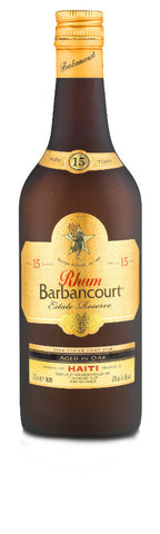 Rhum Barbancourt 15 year Estate