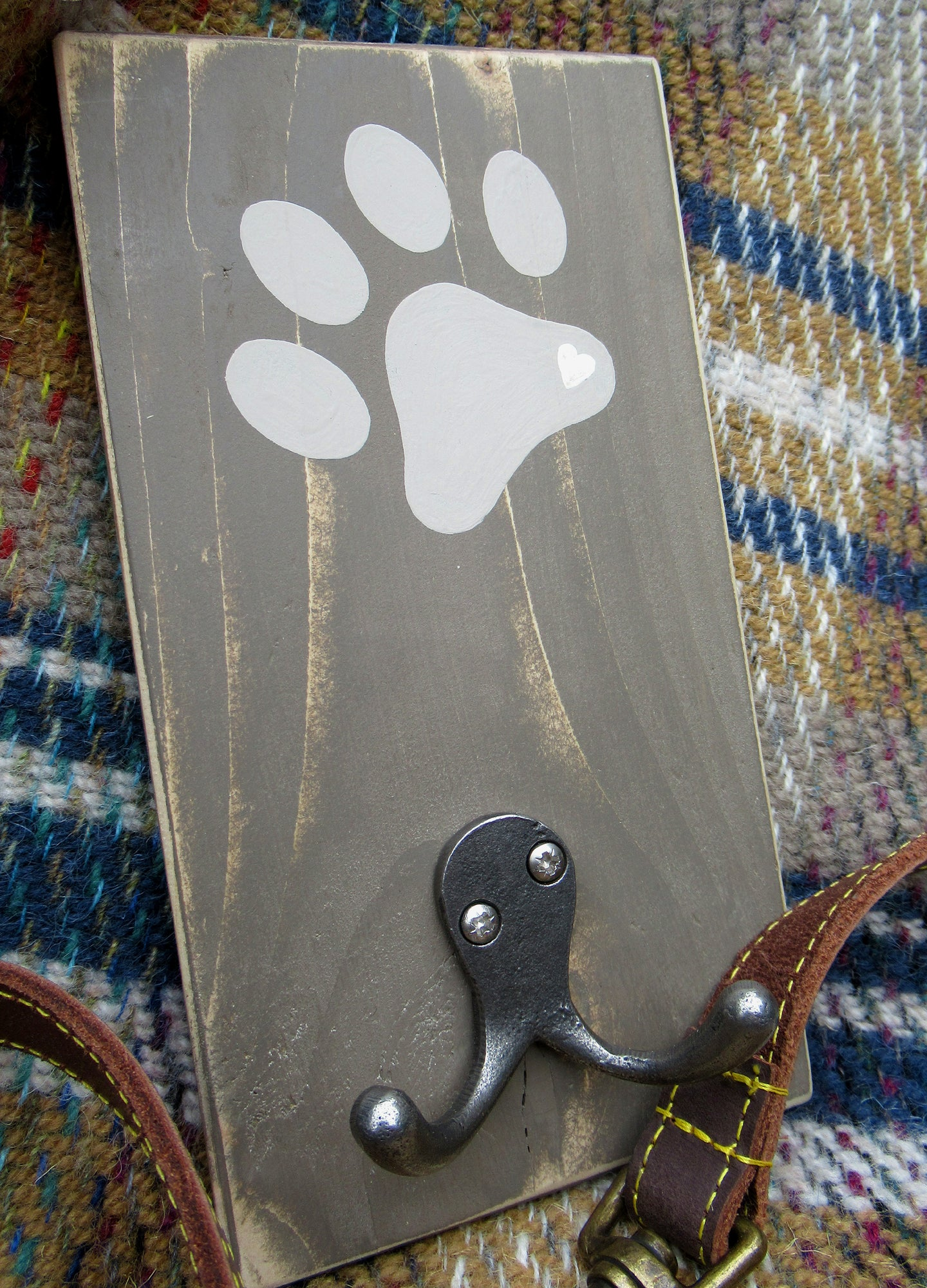 Single Paw Print - Chocolate