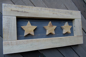 Triple Star Picture - Dark Grey