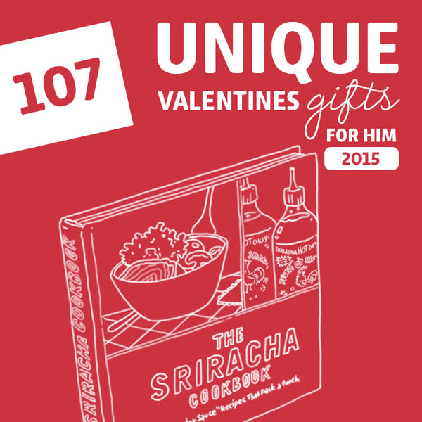 107 Most Unique Valentine's Gifts for Him of 2018