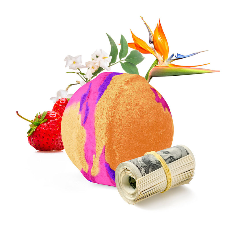 Birds Of Paradise Cash Bath Bomb