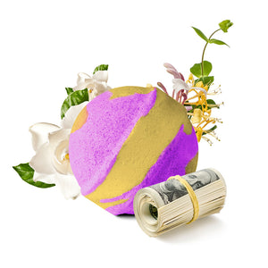 Honeysuckle Gardenia Cash Bath Bomb