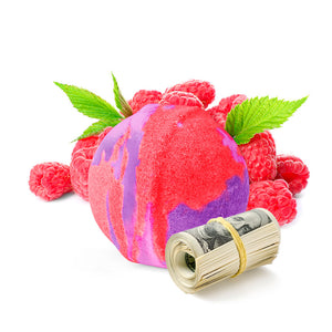 Rockin' Raspberry Cash Bath Bomb