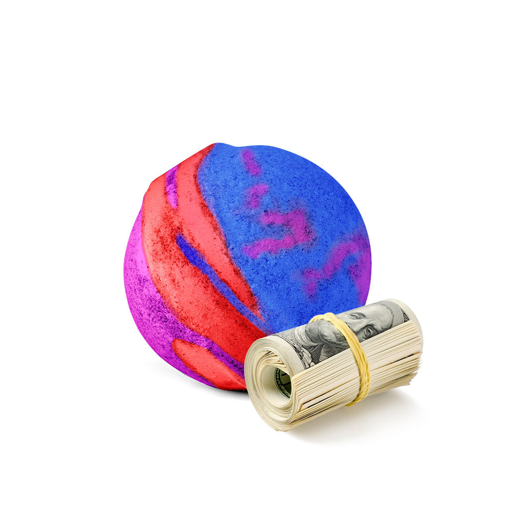 Rainbow Magic Cash Bath Bomb