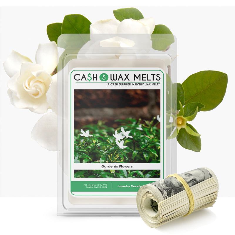 Gardenia Flowers Cash Wax Melt