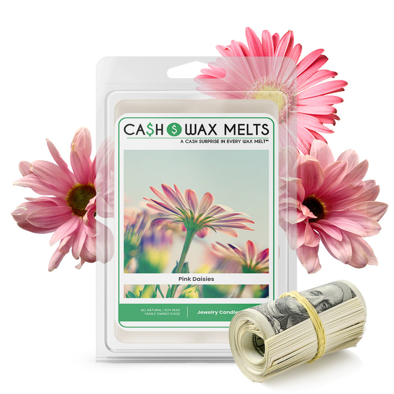 Pink Daisies Cash Wax Melts