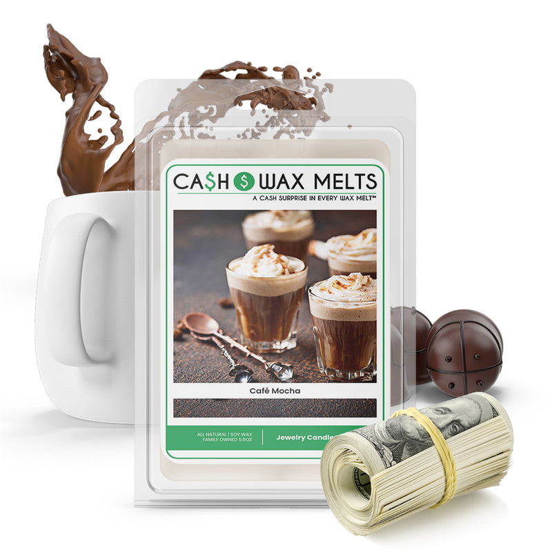 Cafe Mocha Cash Wax Melt