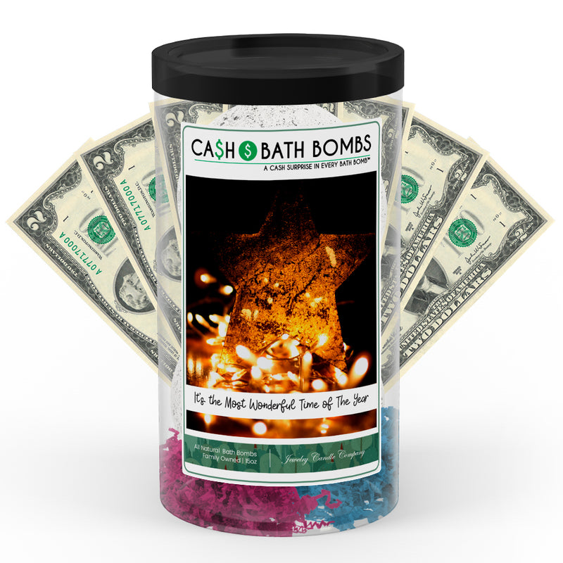 ITS THE MOST WONDERFUL TIME OF THE YEAR  Cash Bath Bomb