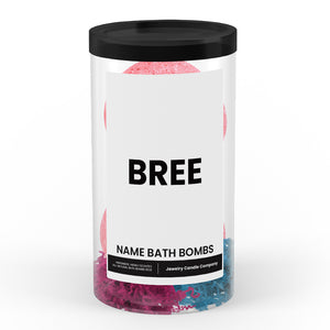 BREE Name Bath Bomb Tube