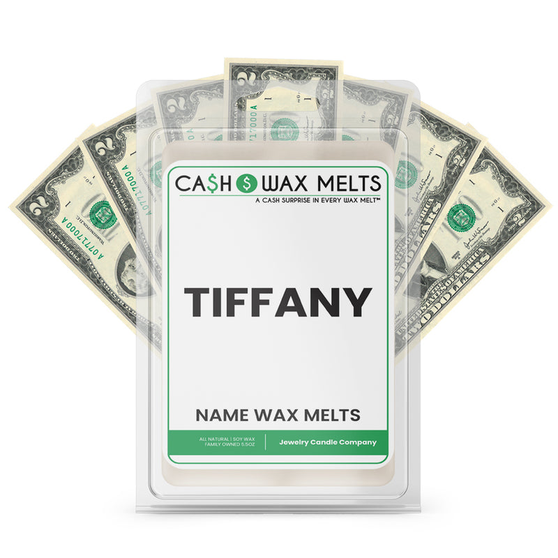 TIFFANY Name Cash Wax Melts