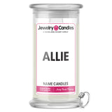 ALLIE Name Jewelry Candles