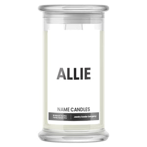 ALLIE Name Candles