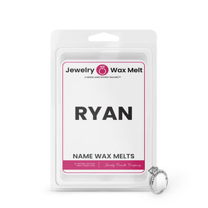 RYAN Name Jewelry Wax Melts