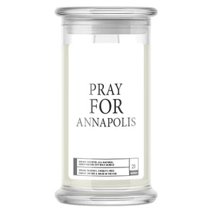 Pray For Annapolish Candle