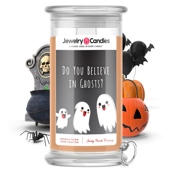 Do you believe in ghosts? Jewelry Candle