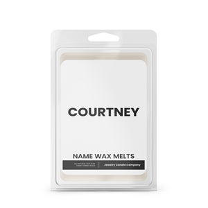 COURTNEY Name wax Melts