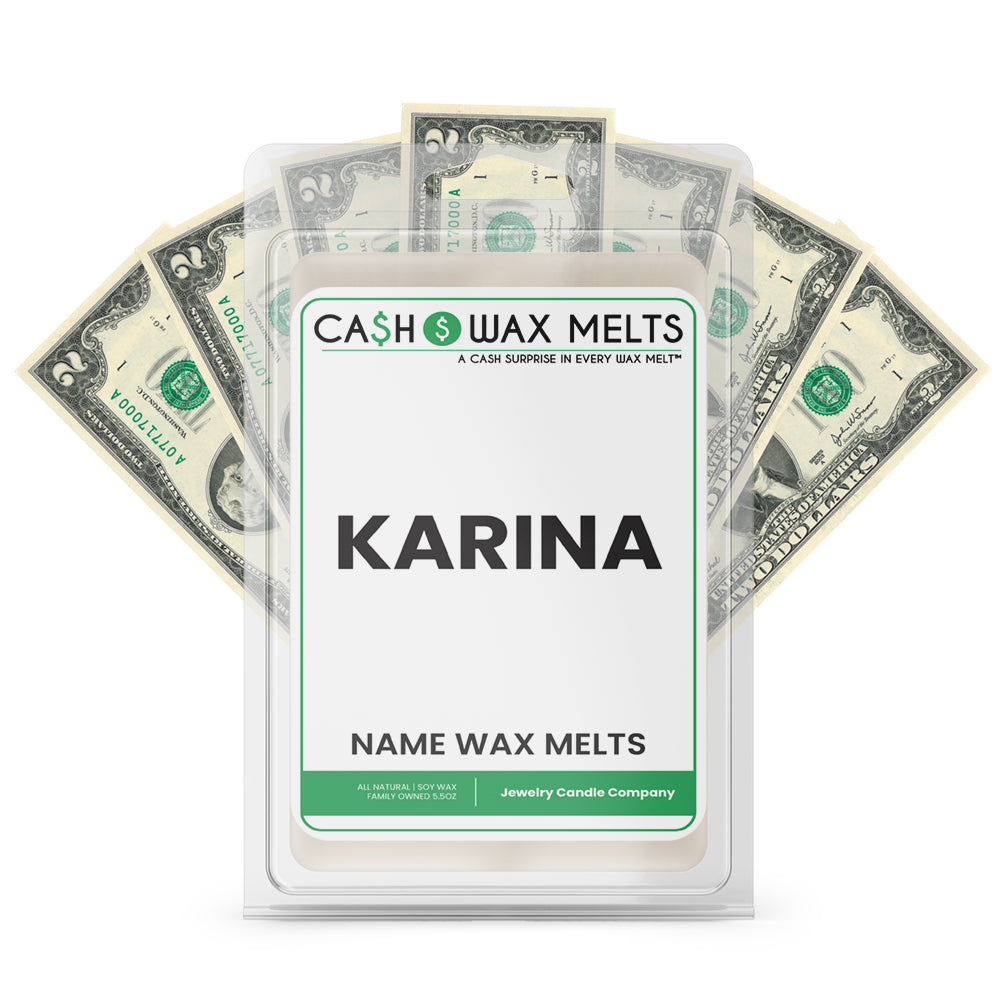 KARINA Name Cash Wax Melts