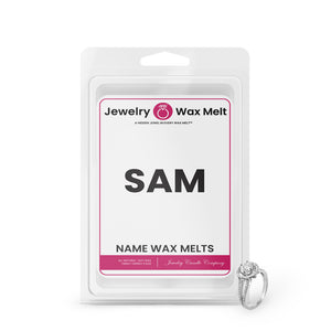 SAM Name Jewelry Wax Melts