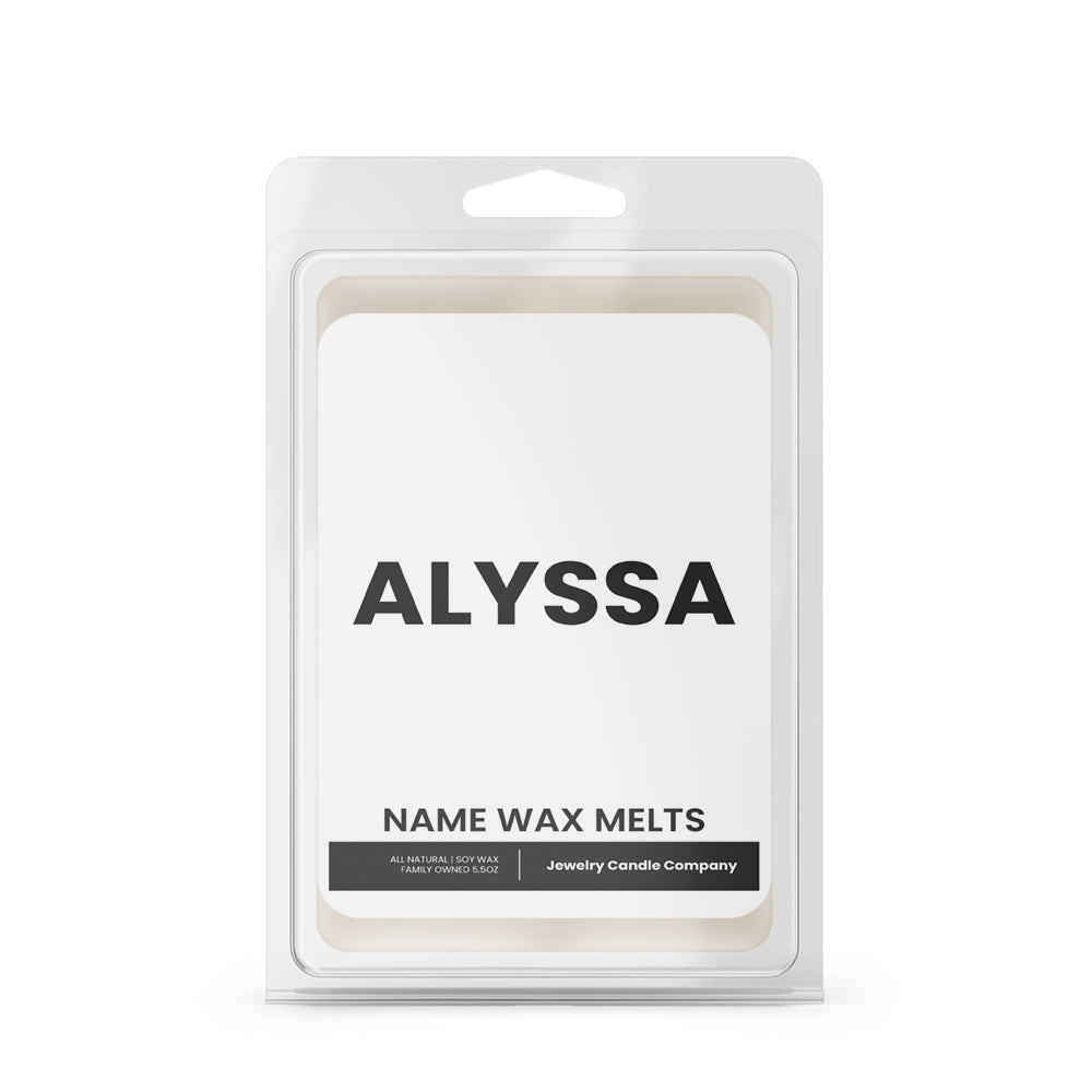 ALYSSA Name Wax Melts