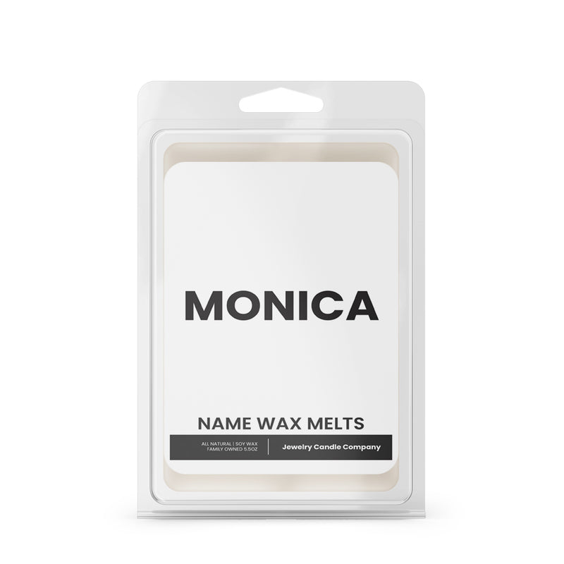 MONICA Name Wax Melts