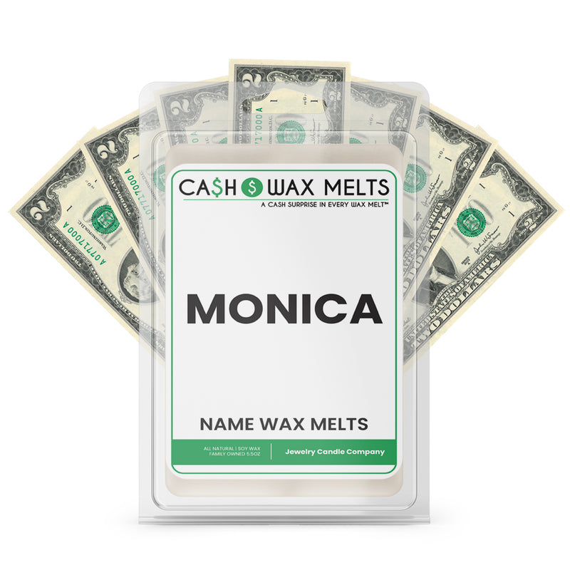 MONICA Name Cash Wax Melts