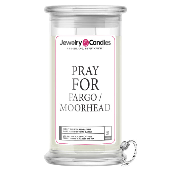 Pray For Fargo/Moorhead Jewelry Candle