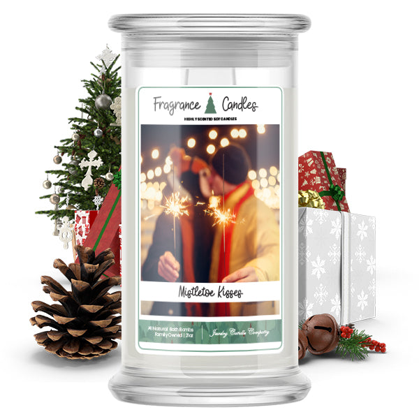 Mistletoe Kisses Fragrance Candle