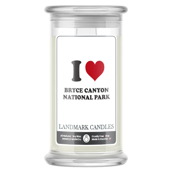 I Love BRYCE CANYON NATIONAL PARK Landmark  Candles
