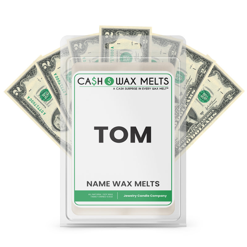 TOM Name Cash Wax Melts