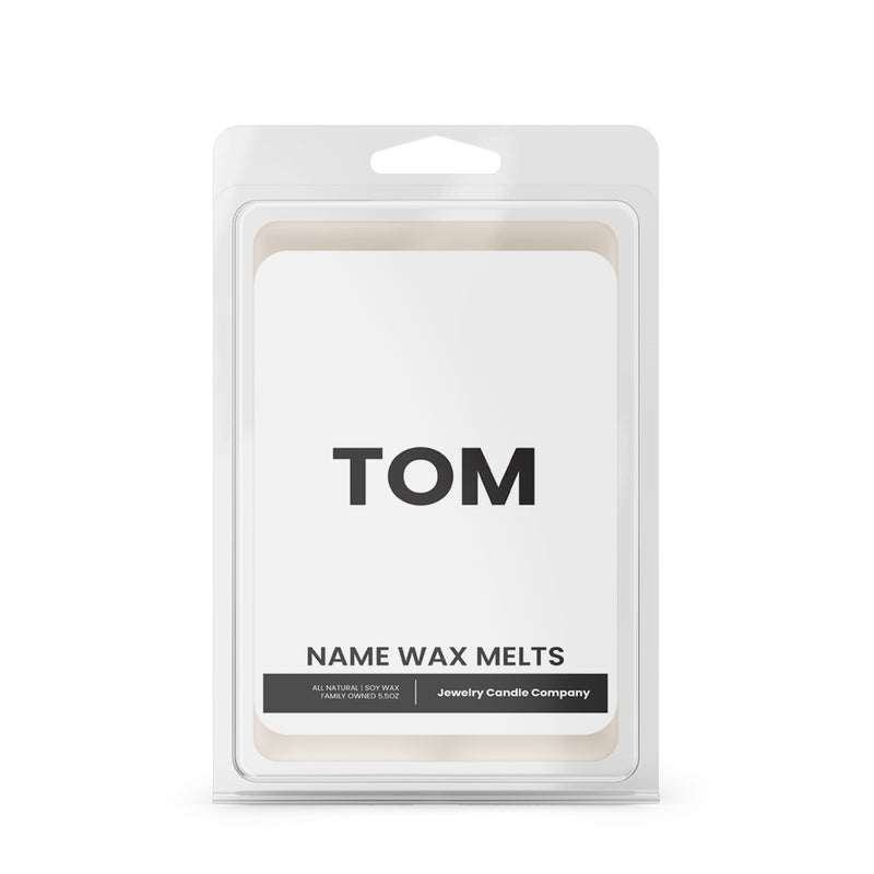 TOM Name Wax Melts