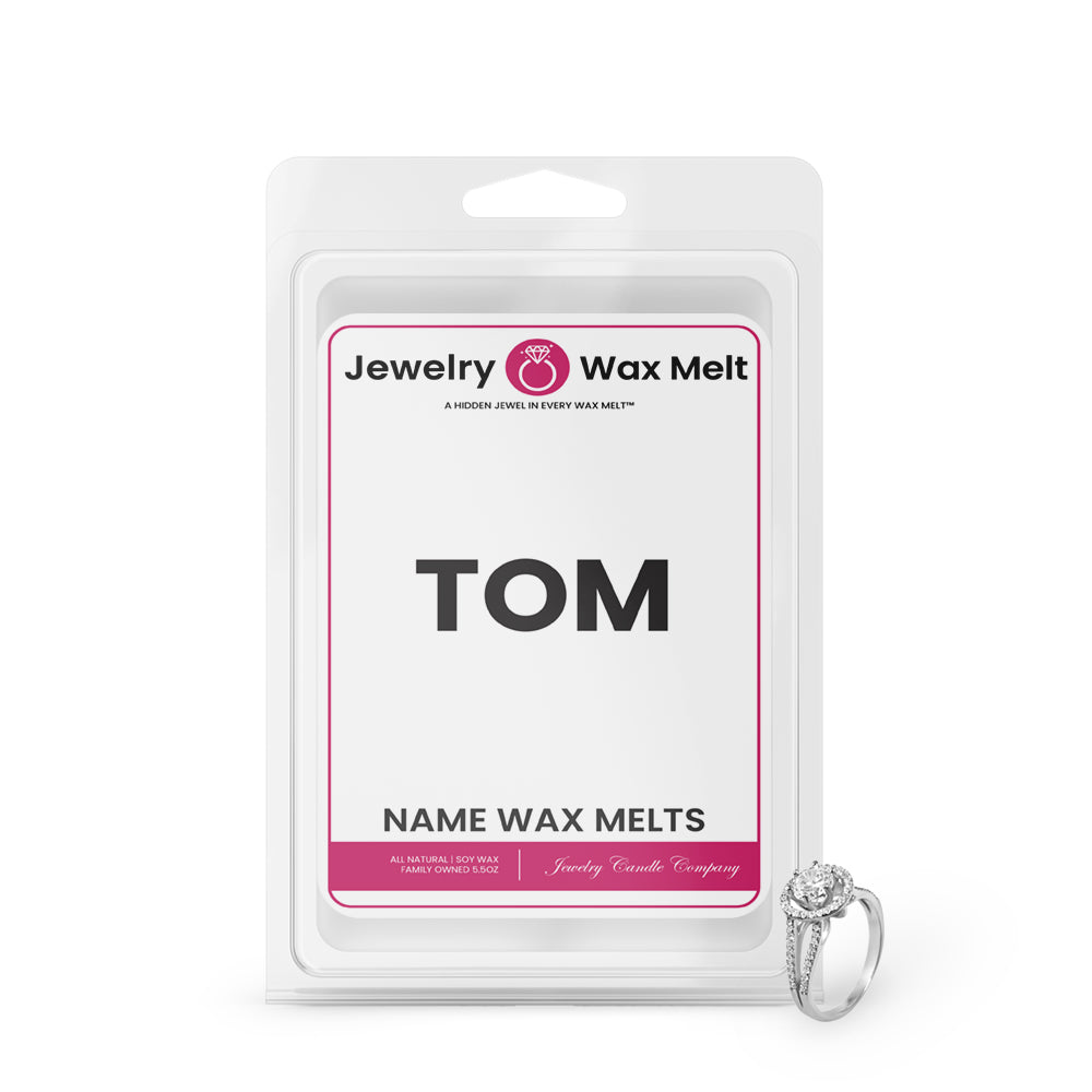 TOM Name Jewelry Wax Melts