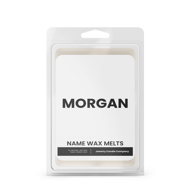 MORGAN Name Wax Melts