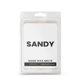 SANDY Name Wax Melts