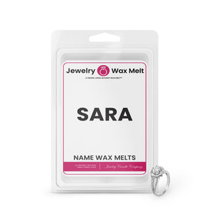 SARA Name Jewelry Wax Melts