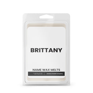 BRITTANY Name Wax Melts