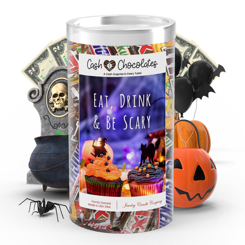 Eat, Drink & Be scary Cash Chocolates
