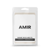 AMIR Name Wax Melts
