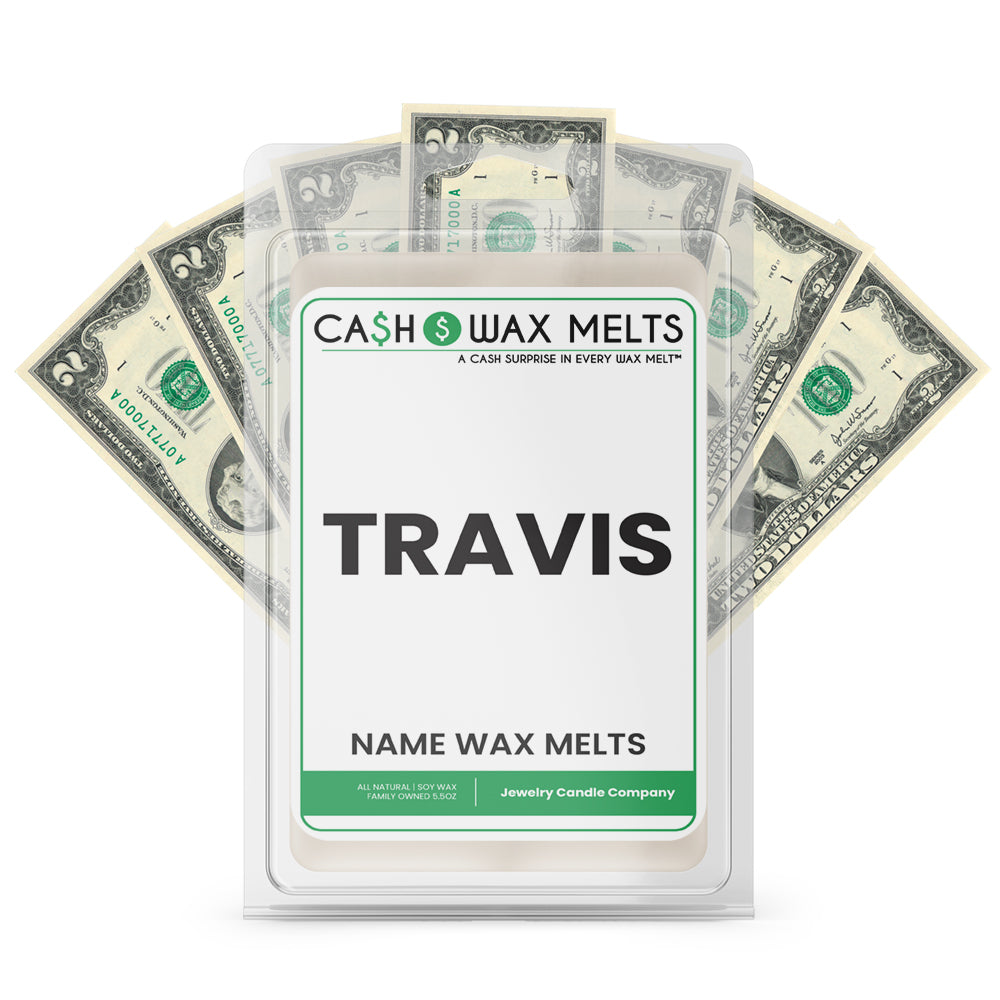 TRAVIS Name Cash Wax Melts