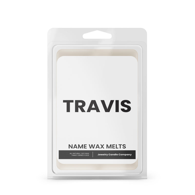 TRAVIS Name Wax Melts