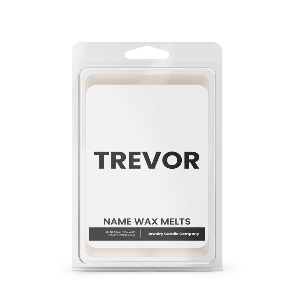 TREVOR Name Wax Melts