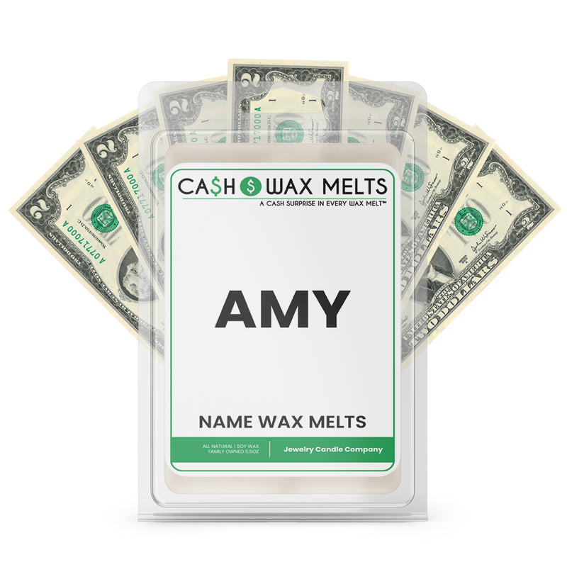 AMY Name Cash Wax Melts